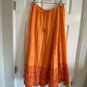 White Stag Indian skirt